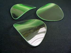 Shaped glass