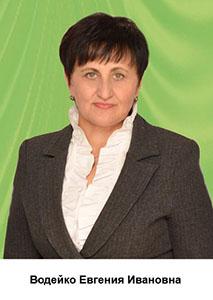 Вадейко Евгения Ивановна