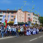 Участие коллектива предприятия в митинге и торжественных мероприятиях, посвященные Дню Независимости.