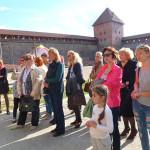 Экскурсия работников предприятия в Лидский замок.