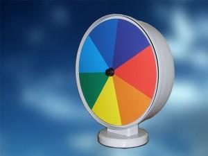 Изделие демонстрационное «Прибор для сложения цветов спектра»
